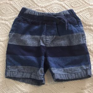 Other - Blue striped shorts